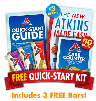 Temporary waffle free atkins starter kit for Atkins quick cuisine