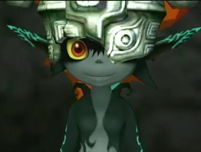 Here are some pics of the adorable little shadow being that saves the    Zelda Twilight Princess Midna
