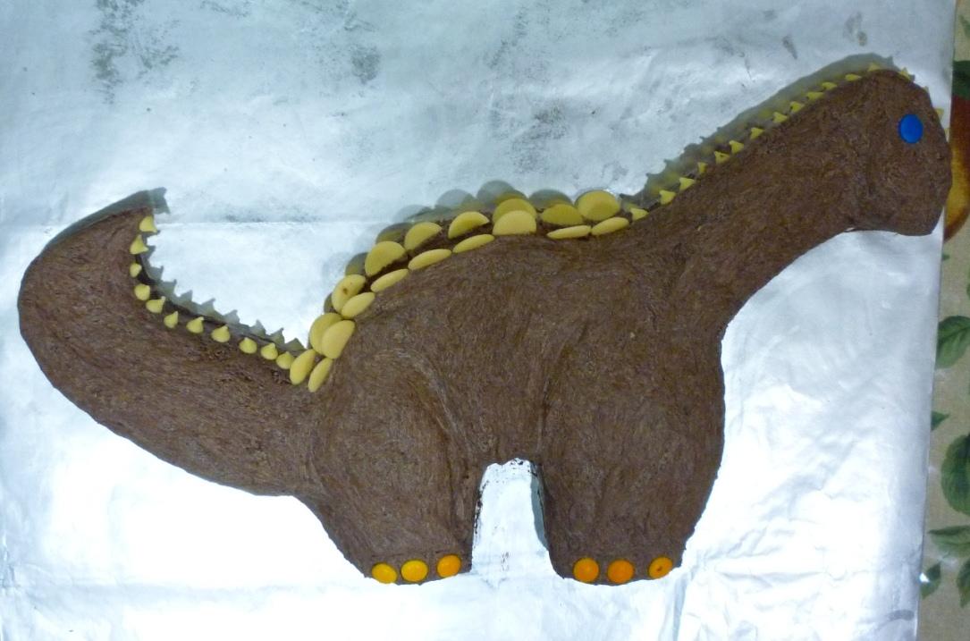 Yin S Homemade 盈盈巧手 Dinosaur Cake 恐龙蛋糕