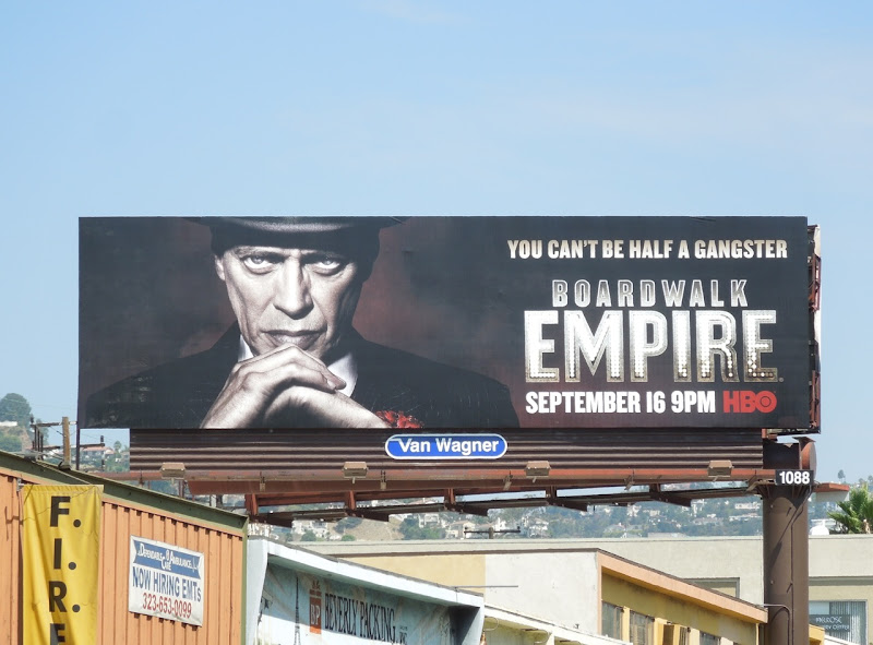 Boardwalk Empire season 3 billboard