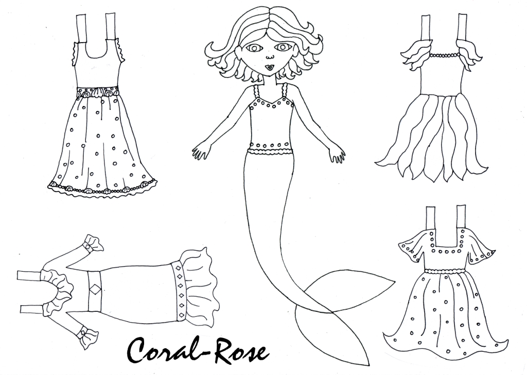 Coral Coloring Pages
