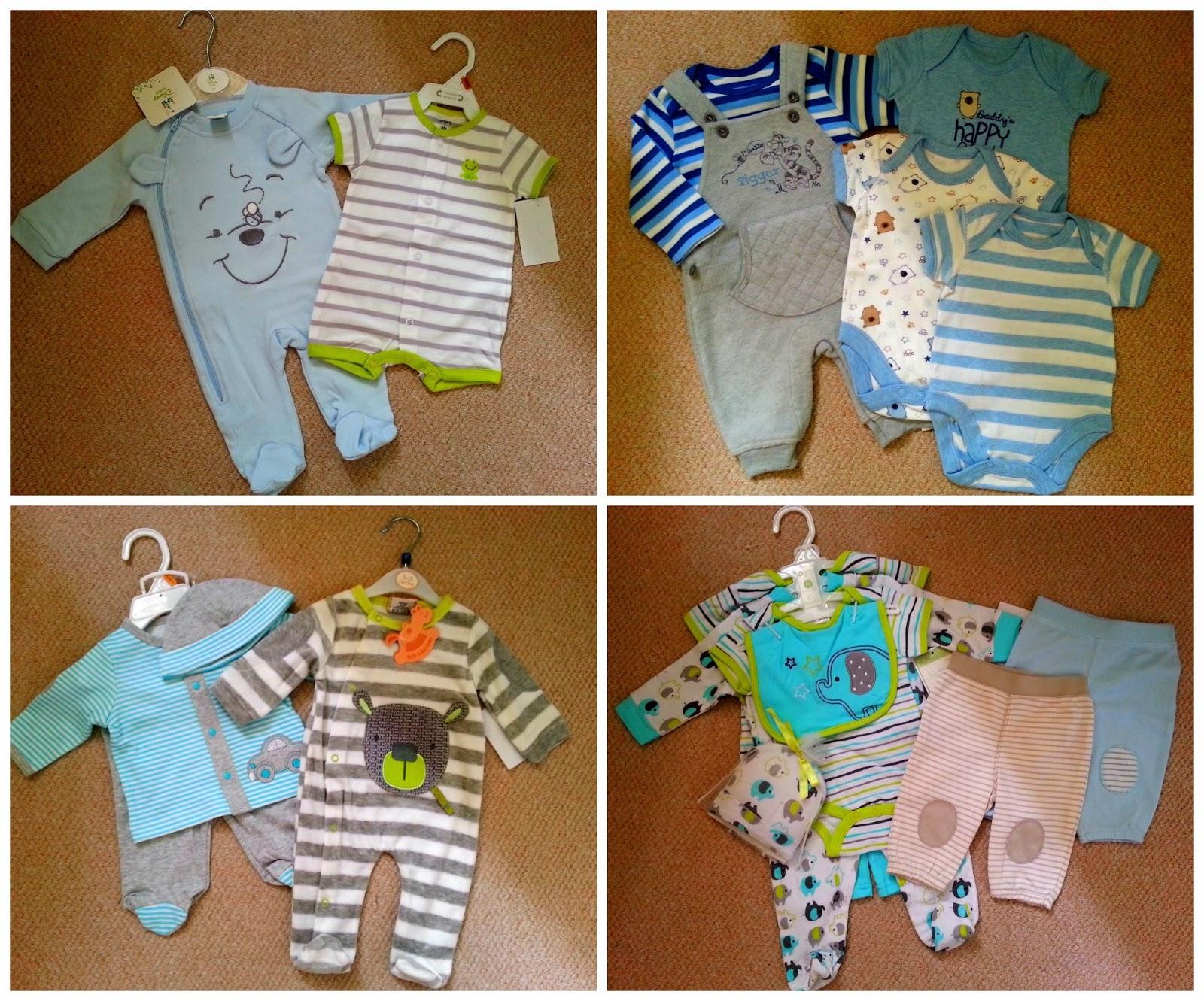 Zakupy- ubranka dla niemowlaka