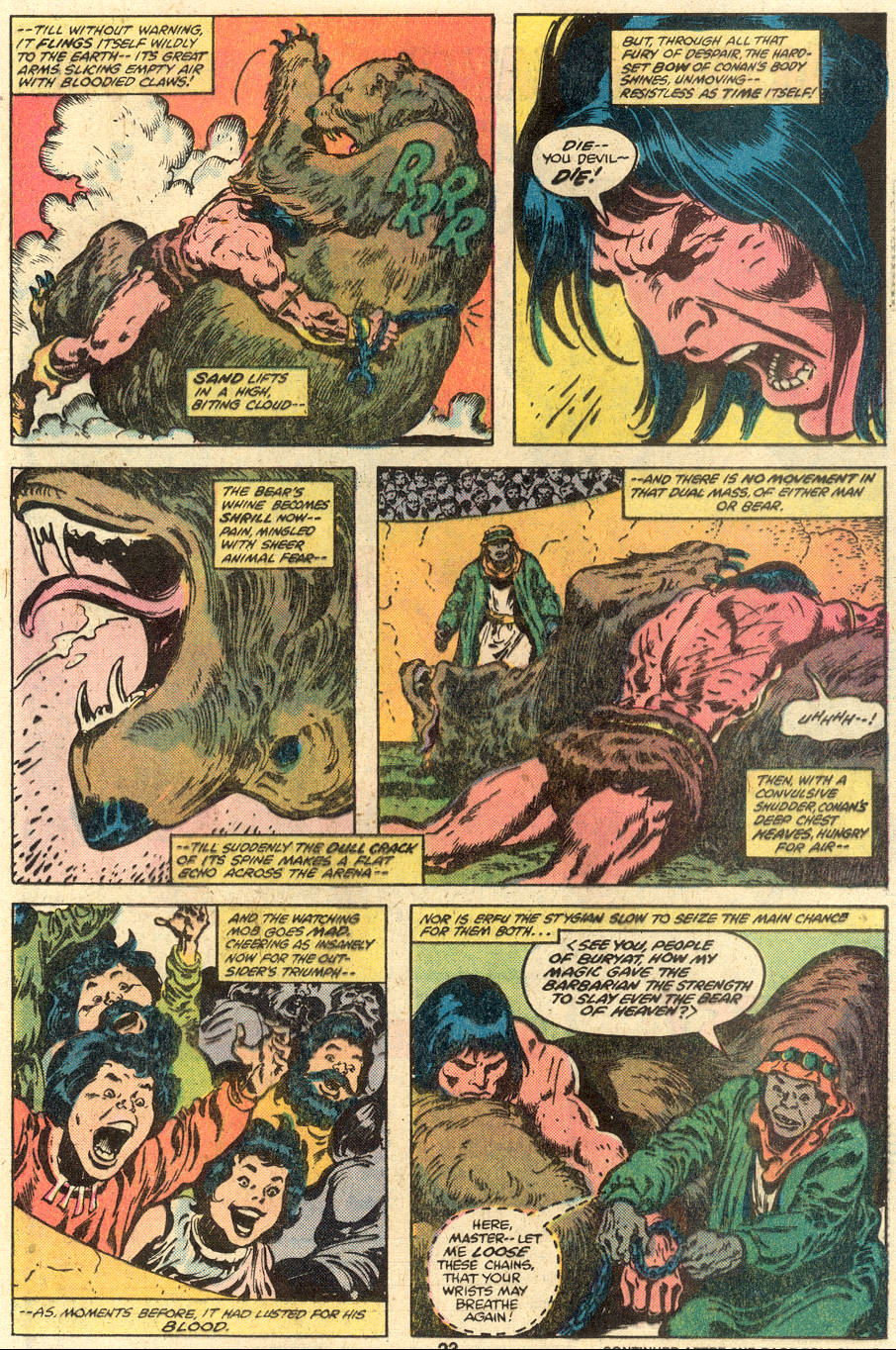 Conan the Barbarian (1970) Issue #110 #122 - English 14