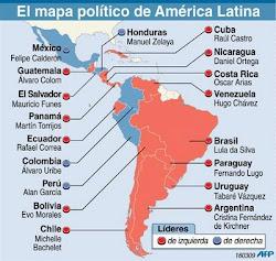 mapa político de america latina