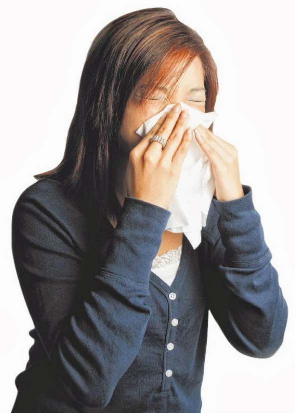 OH NOSE: To alleviate a blocked nose, use an anti-histamine or decongestant if the symptoms are caused by an infection, allergy or vasomotor rhinitis.