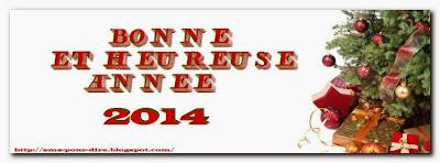 Sms pour souhaiter bonne année 2014 - message pour le nouvel ans