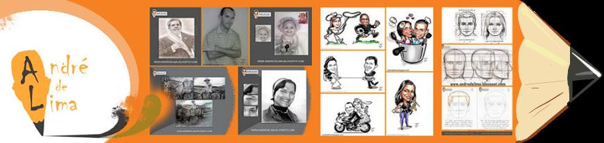 ANDRE DE LIMA RC - Retratos e Caricaturas