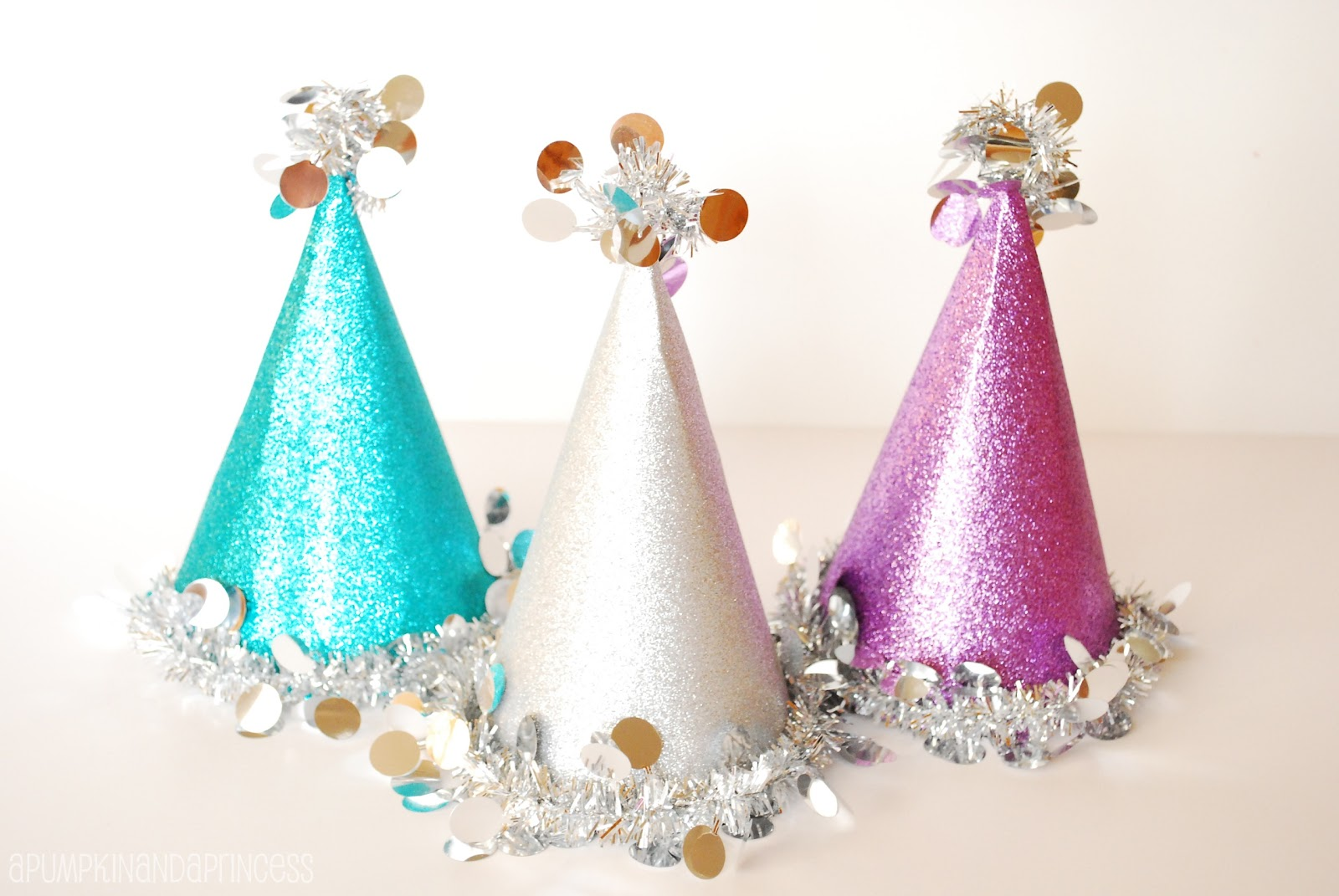 Christmas Party Hat Ideas Part - 26: DIY Party Hats