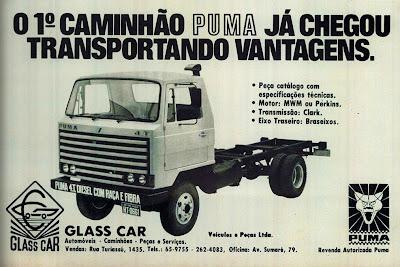 propaganda caminhão Puma - 1979. propaganda anos 70. propaganda carros anos 70. reclame anos 70. Oswaldo Hernandez.