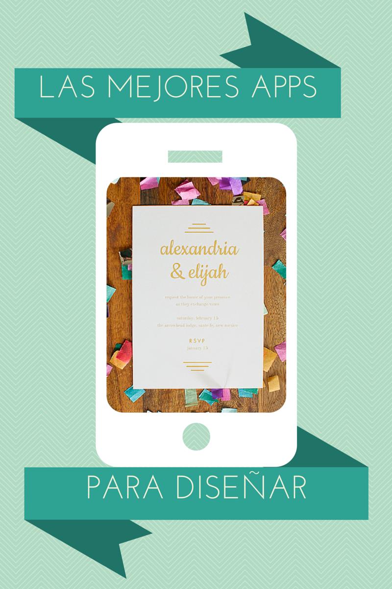 La novia hipster Las mejores apps para disear tus invitaciones y