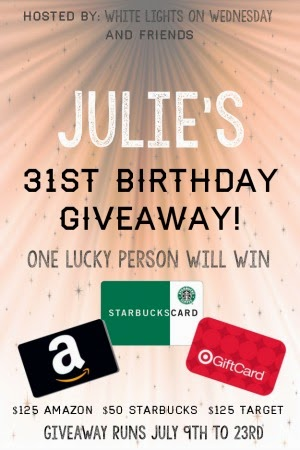Time for a giveaway! $300 total to Target, Amazon, & Starbucks. Runs 7/9-7/23/14 | Persnickety Plates