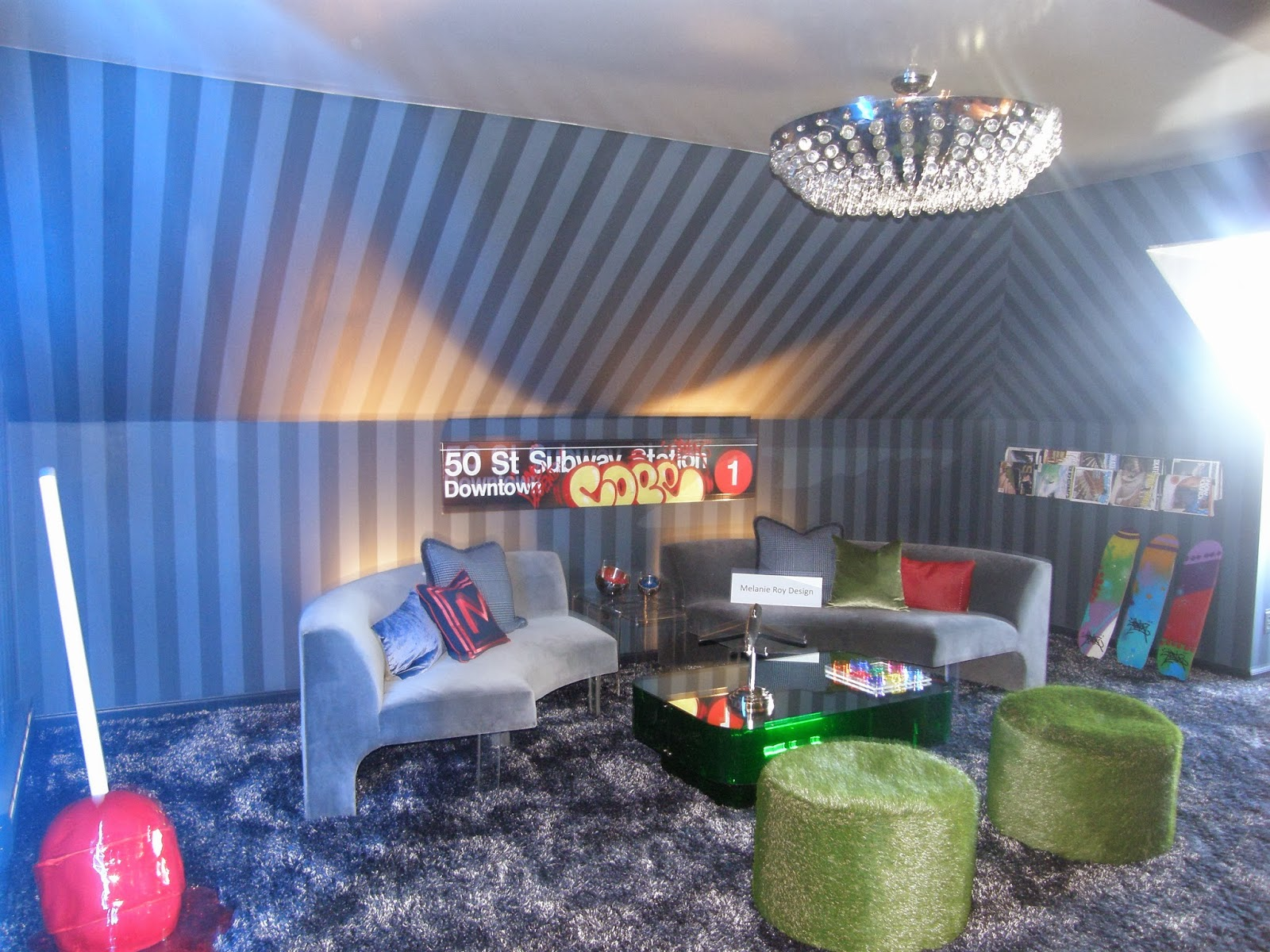 Sybaritic Spaces: Home is Where the Is Showhouse on