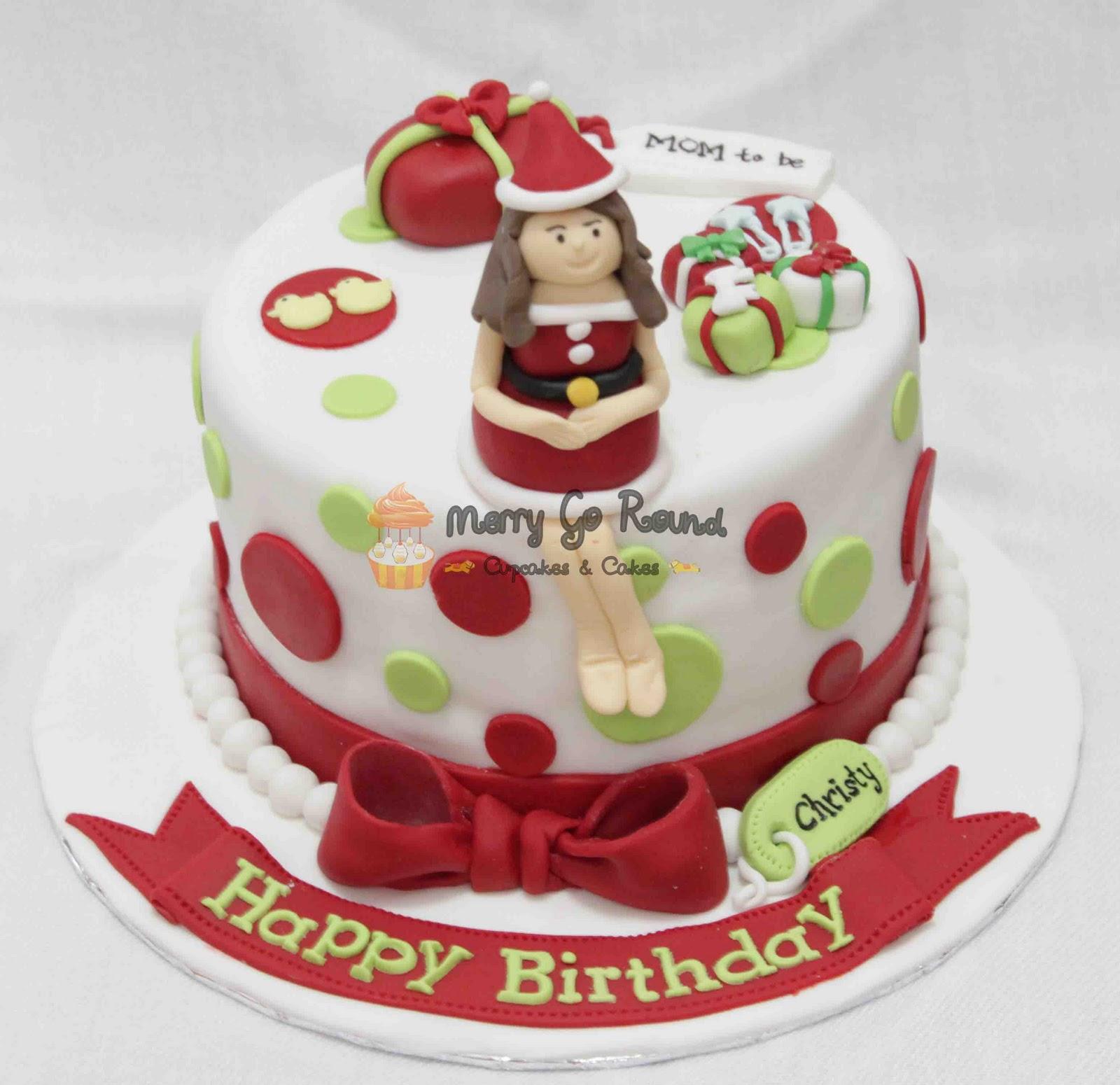 Merry Go Round Cupcakes Cakes Happy Birthday Christy