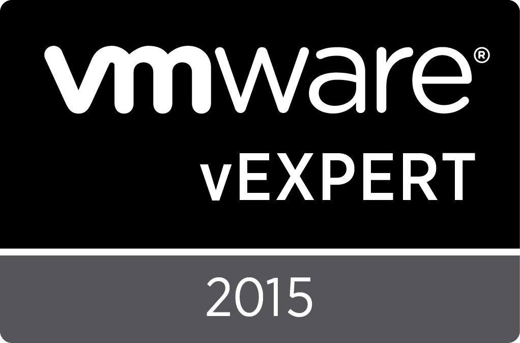 VMware vEXPERT 2015