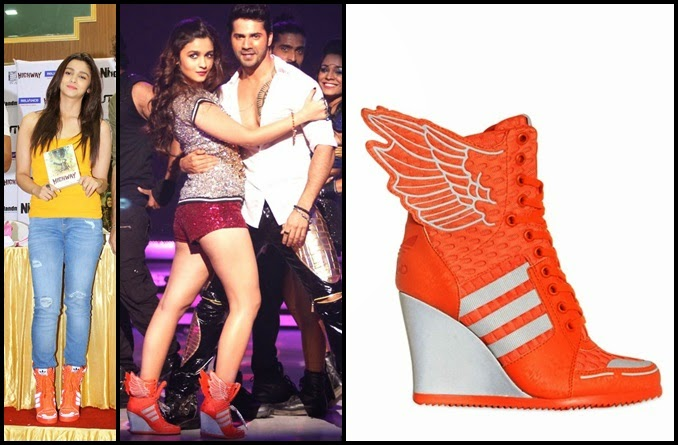 Alia Bhatt Adidas Shoes