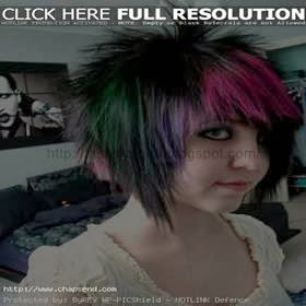 Latest Emo and Scene Hairstyles
