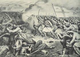 Η Μάχη στο Μανιάκι - Παπαφλέσσας
