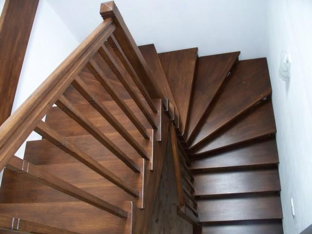 schody dębowe