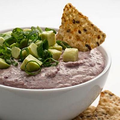 Sup kacang merah dengan kapur Yogurt
