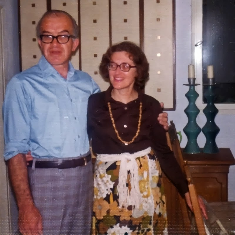 Ben and Marion Shuman - 1974