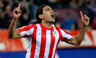 La historia goleadora de Falcao García en el Atlético
