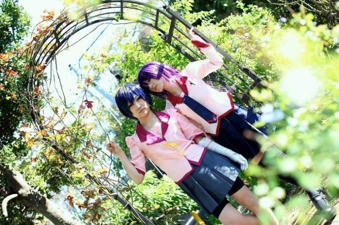 CosRain.Com Chamaro's COSPLAY - Bakemonogatari