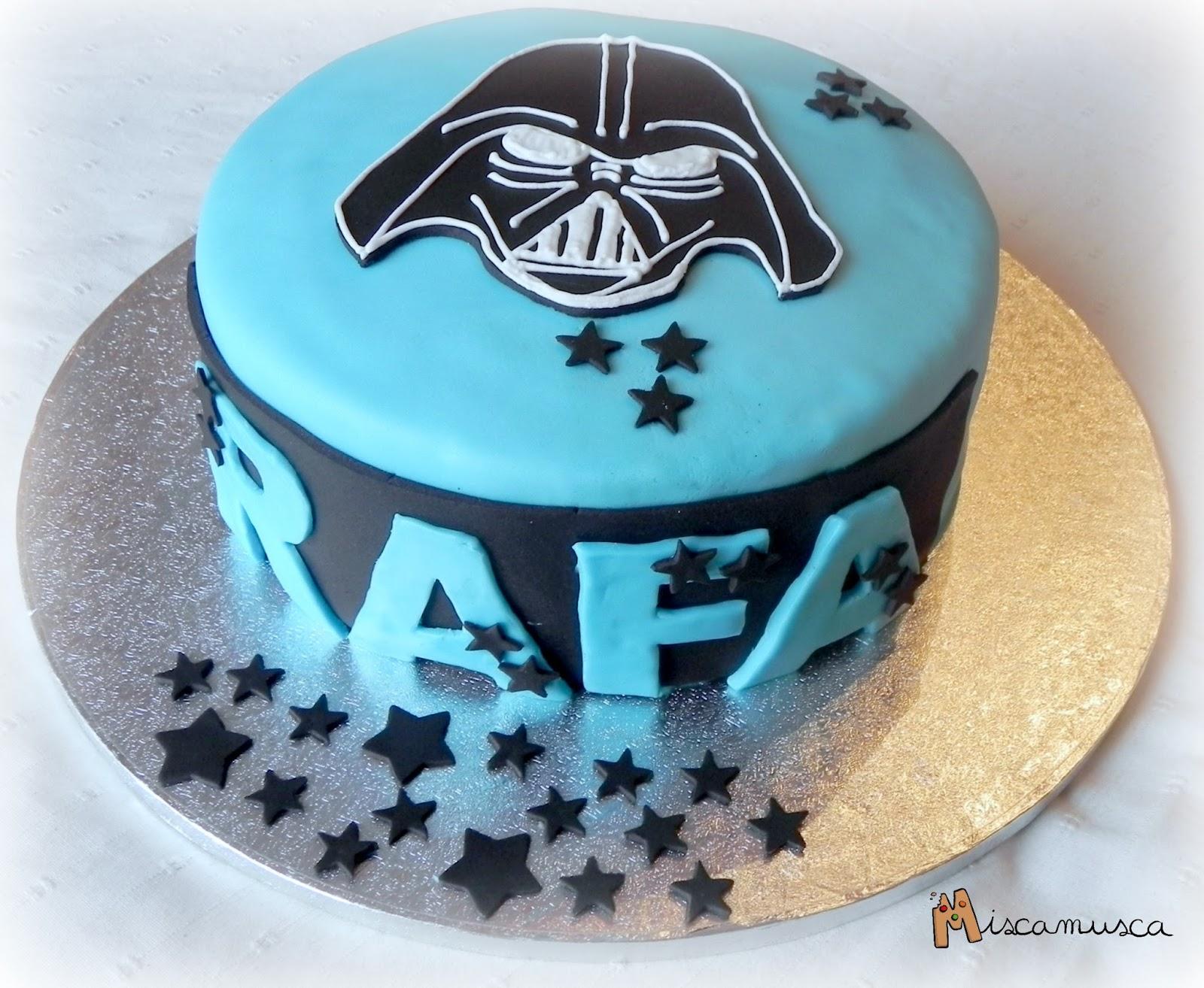 Pastel fondant Star Wars