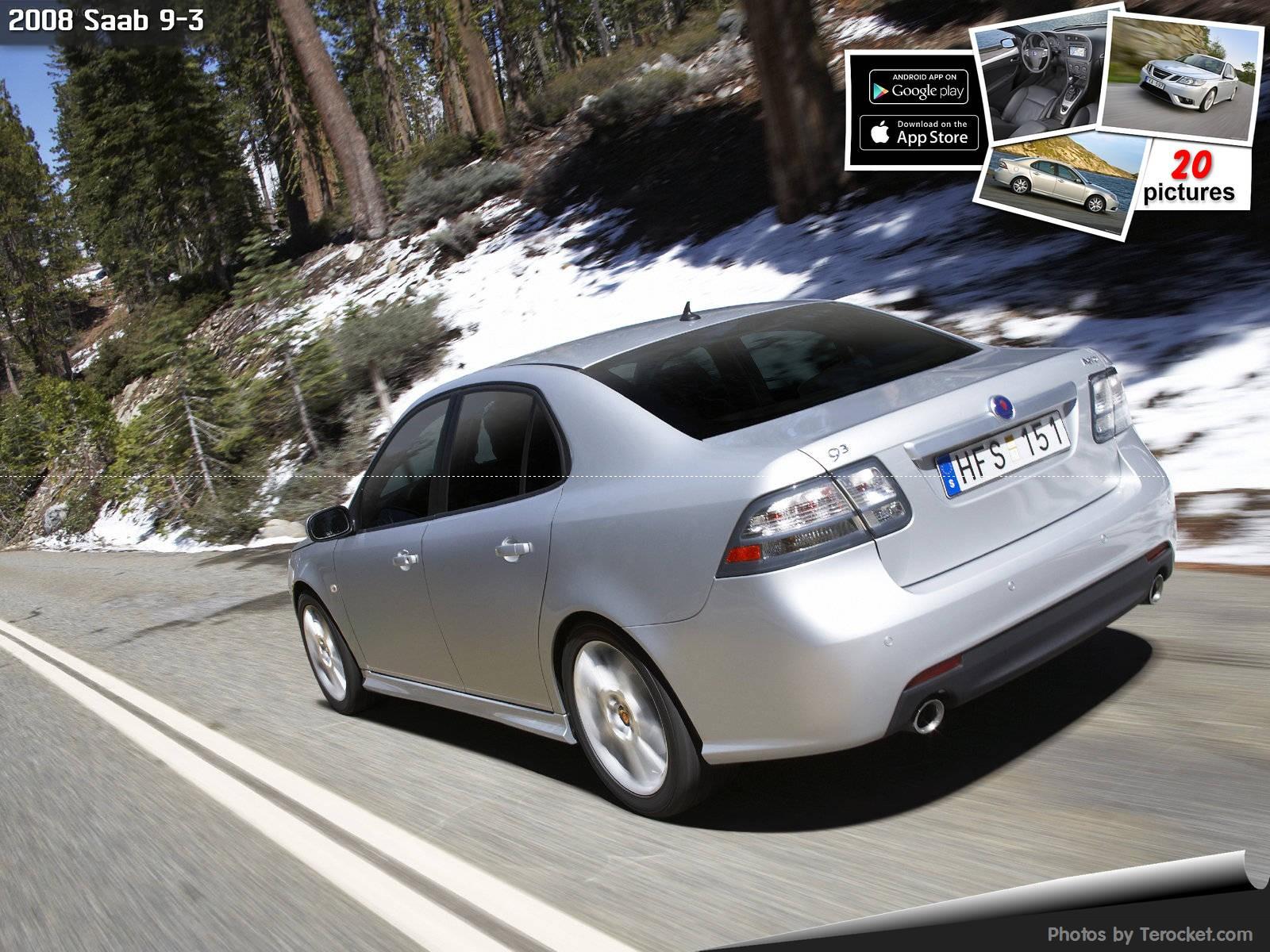 Hình ảnh xe ô tô Saab 9-3 2008 & nội ngoại thất