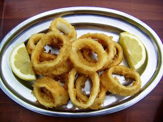 Gijón, Casa Segundo, Calamares fritos