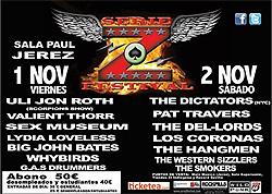 cartel del festival Serie Z 2013
