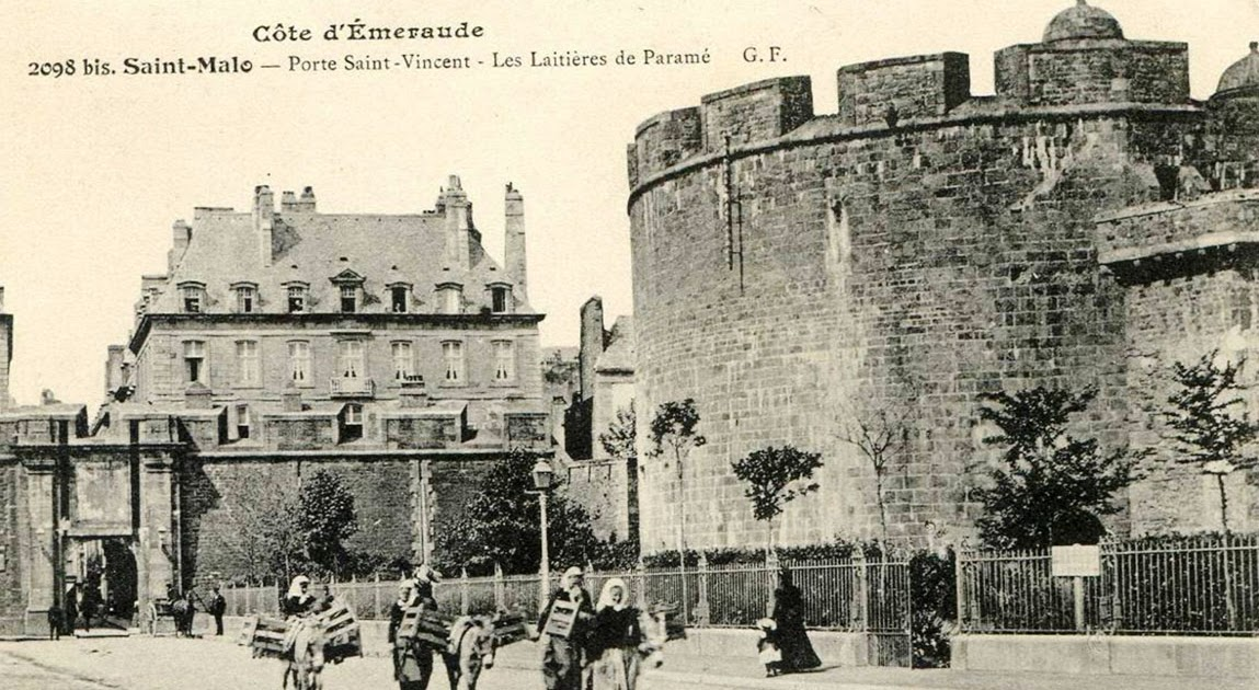 Saint malo parcours historique porte saint vincent for Porte de garage saint malo