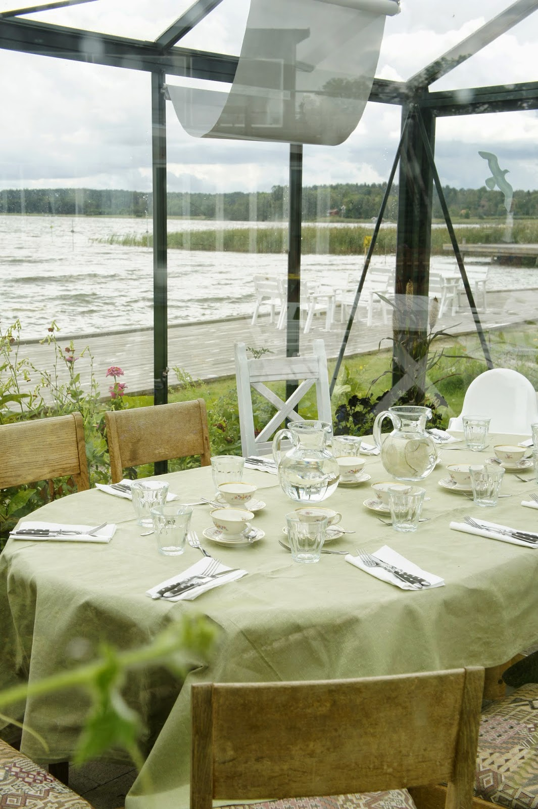 Hornuddens Tradgard eco cafe Sweden