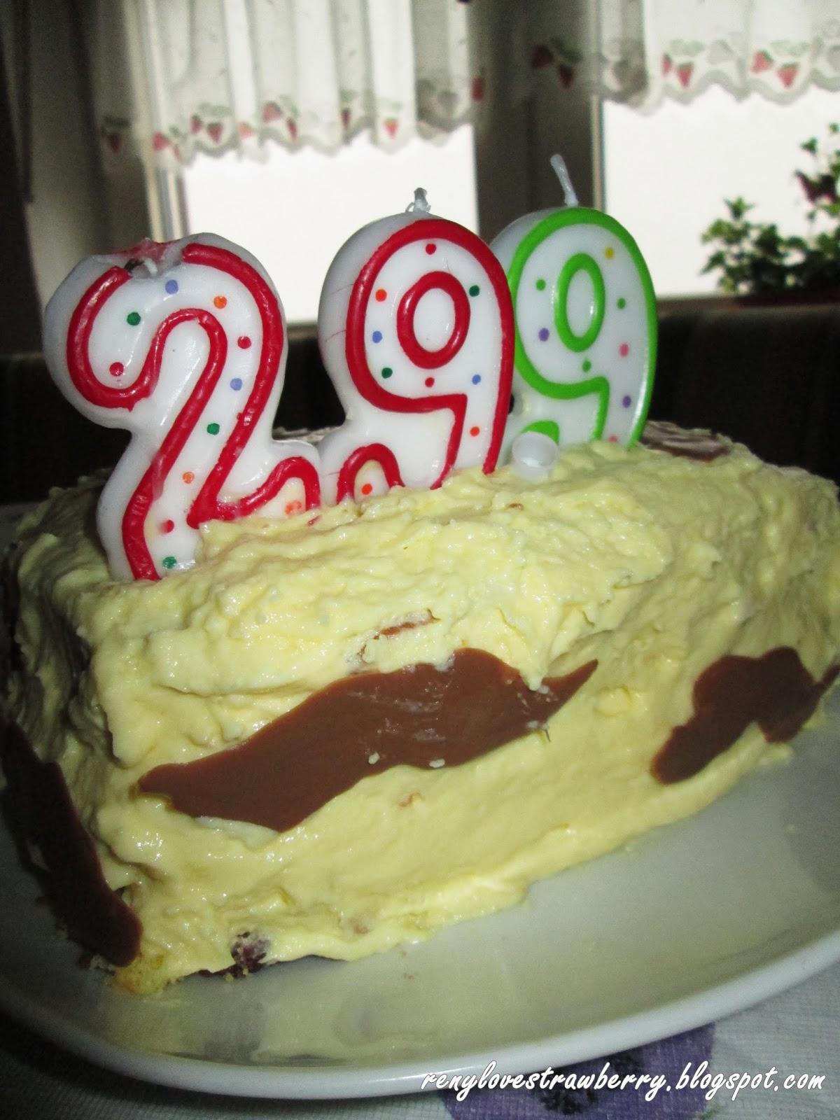 Strawberry Love By Reny Hubbys 299th Birthday Cake
