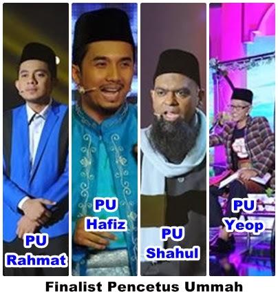finalist pencetus ummah, Mimbar Akhir Pencetus Ummah, pencetus ummah final