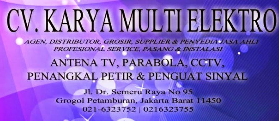 PASANG ANTENA TV -  PARABOLA - KAMERA CCTV - PENANGKAL PETIR