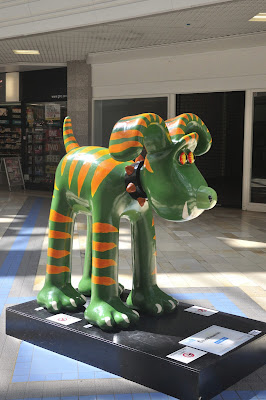 Gromitasaurus Gromit (side view)