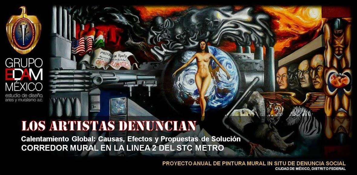 LOS ARTISTAS DENUNCIAN