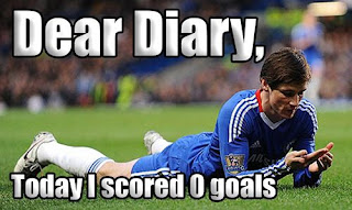 dear diary today i scored 0 goals