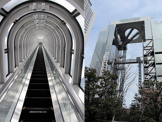 Melancong percuma ke Osaka Jepun bersama Sahajidah Hai-O Marketing melawat Umeda Sky Building