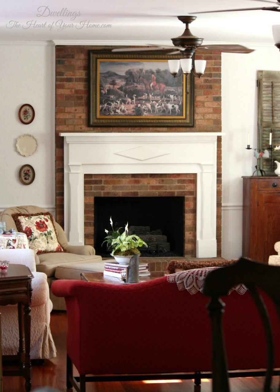 decorating the fireplace mantel u0026 hearth dwellings the heart of