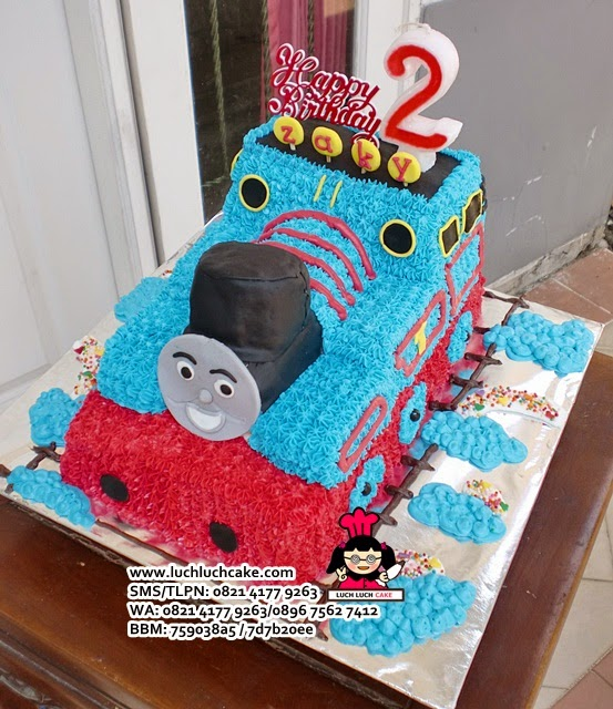 Kue Tart 3D Thomas The Tank Engine Daerah Surabaya - Sidoarjo
