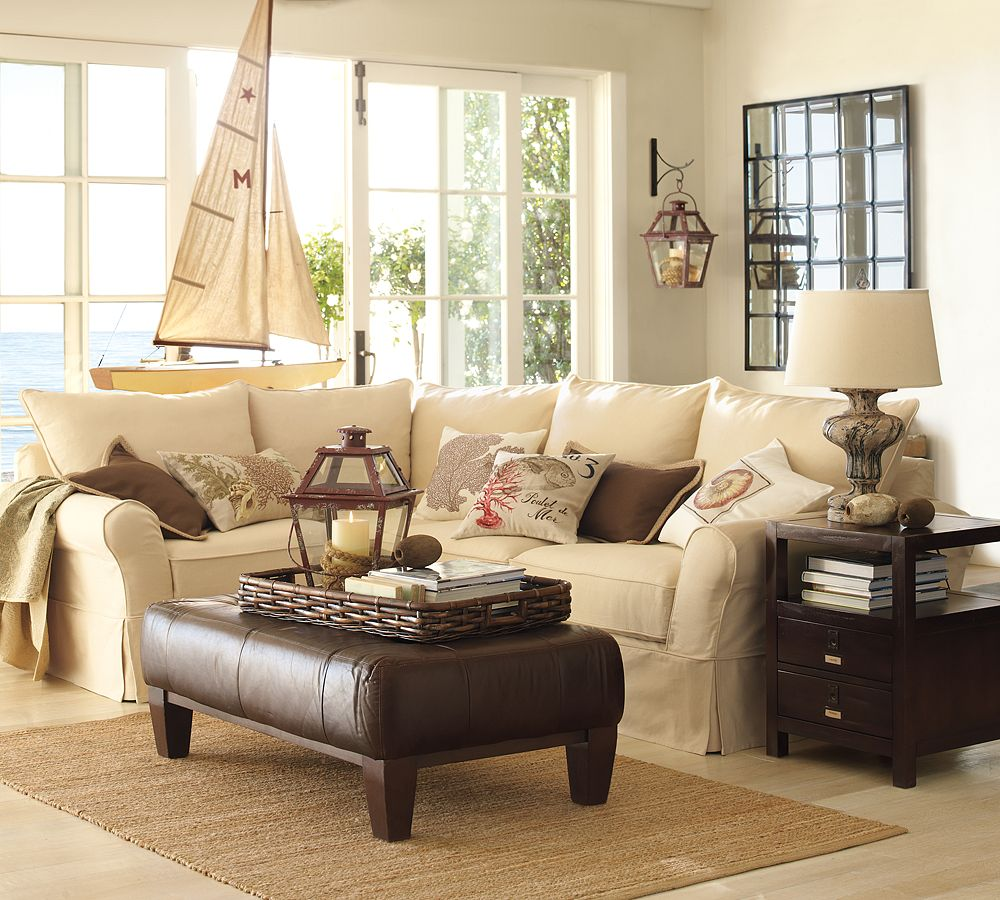 Pottery Barn For Living Room Its Here Pottery Barn Summer Catalog The Wicker House
