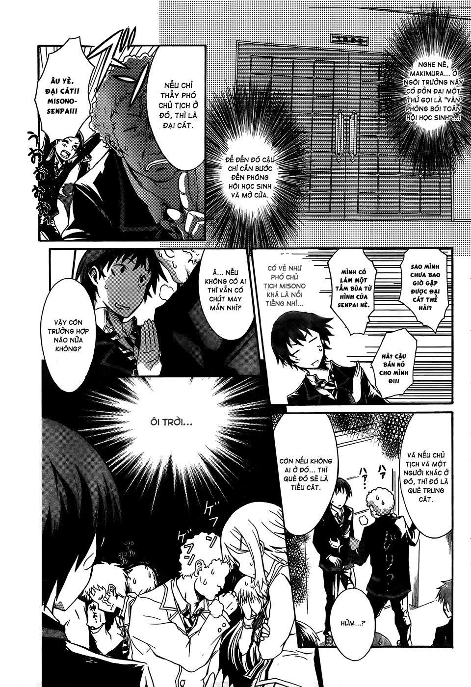 Seitokai Tantei Kirika chap 0 - Trang 9