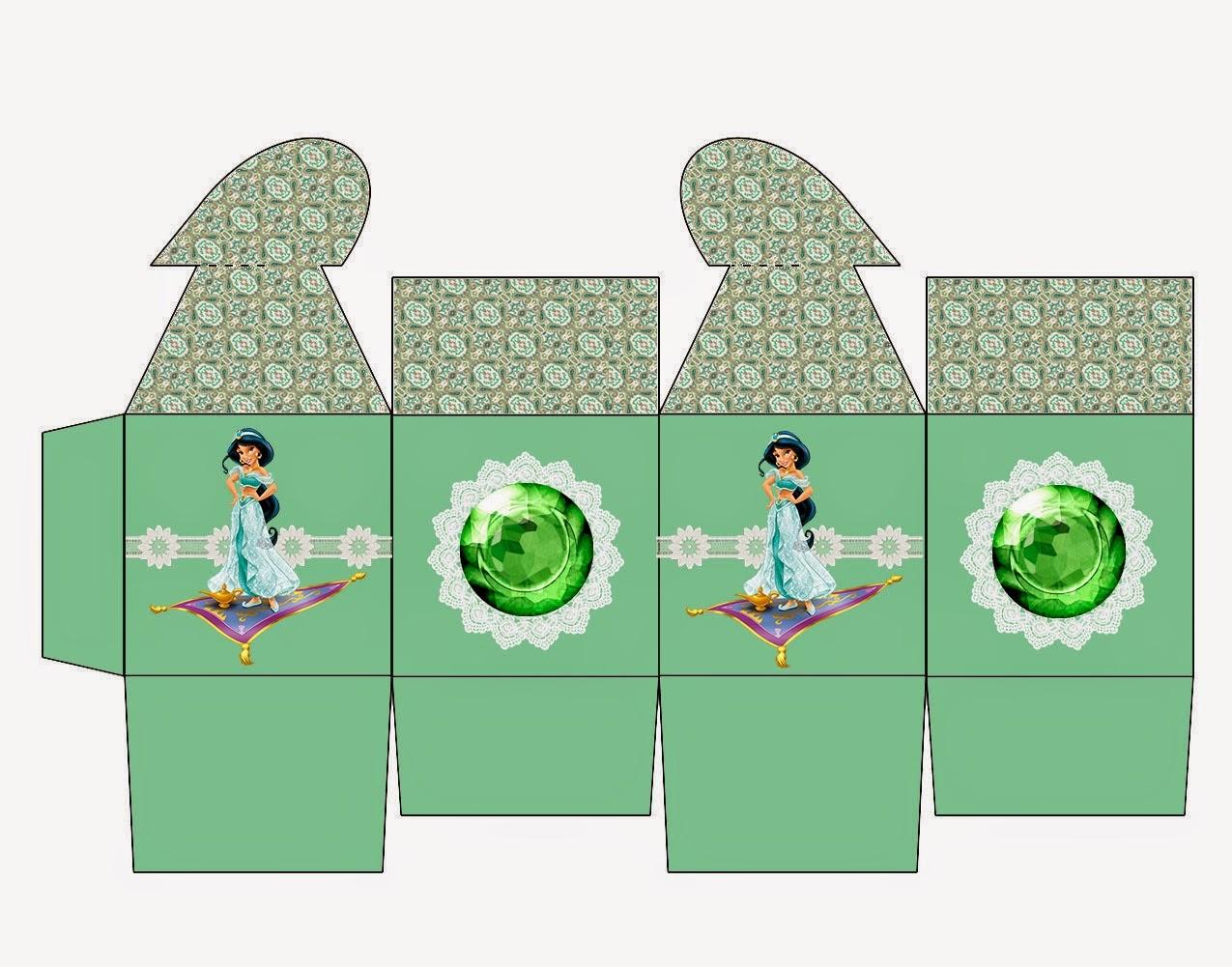 Jasmine: Caja con Cierre en Forma de Corazón para Imprimir Gratis.
