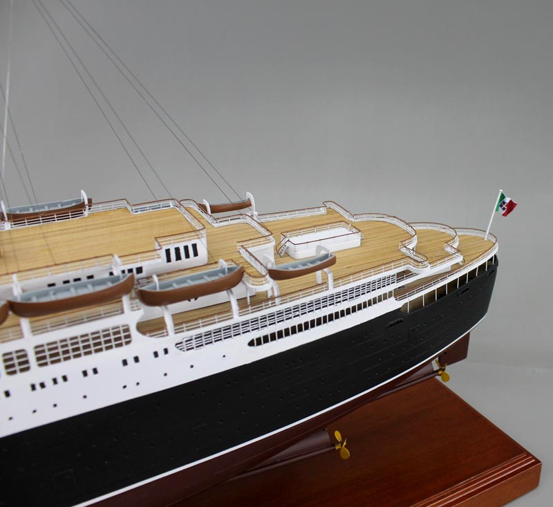 Ss Conti Di Savoia Ocean Liner Model