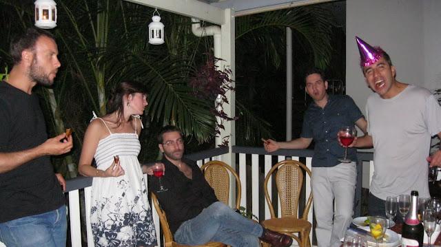 Fiesta de cumpleaños en una casa de Brisbane.