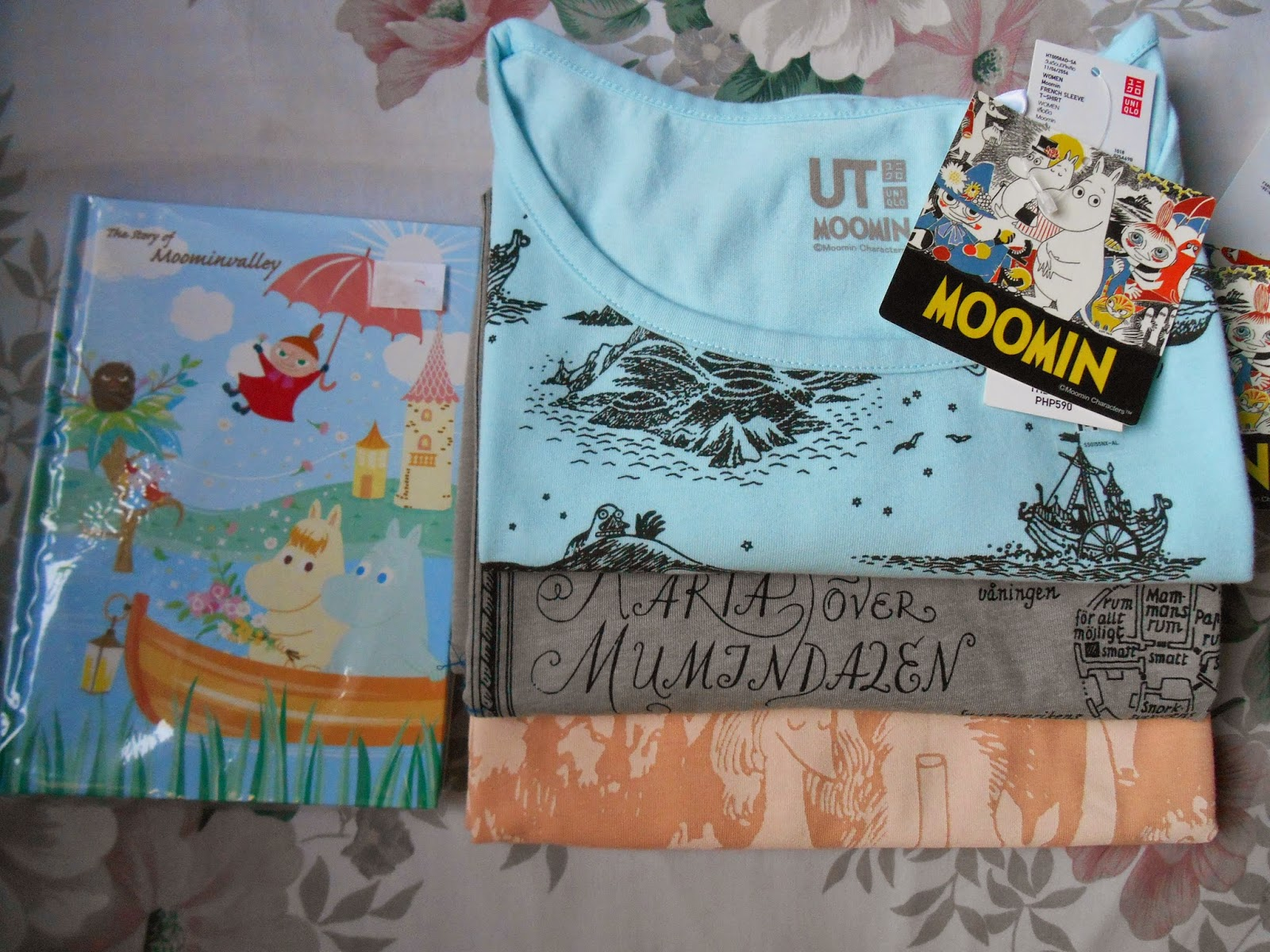 Uniqlo UT Moomin Women's T-shirts and Moomin Diary