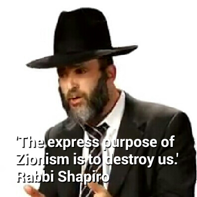 Rabbi Shapiro. click for video