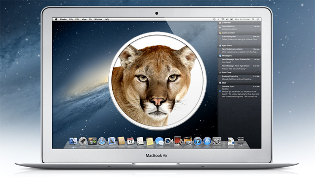 OS X Lion Mountain video preview