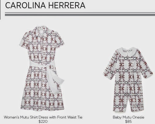 Carolina Herrera for Born Free Collection
